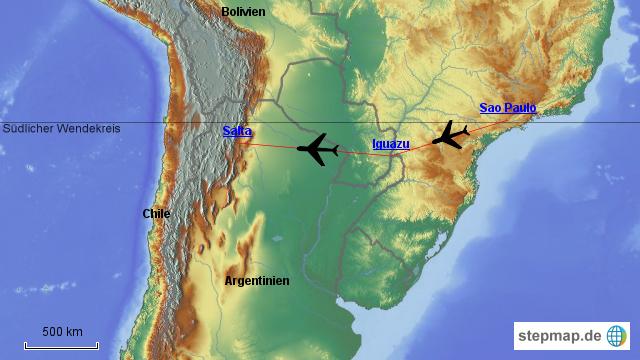 Sao Paulo Flug