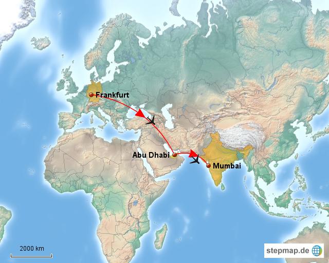 Flug Von Frankfurt Nach Abu Dhabi
