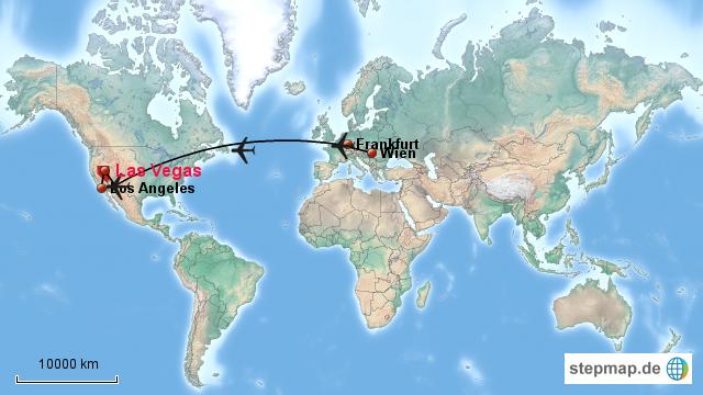 Flug Von Frankfurt Nach Las Vegas