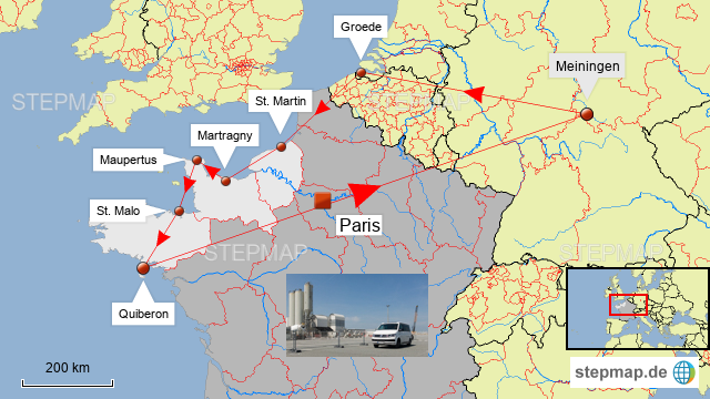 camping frankreich karte Frankreich Camping von TinWolf   Landkarte für Frankreich