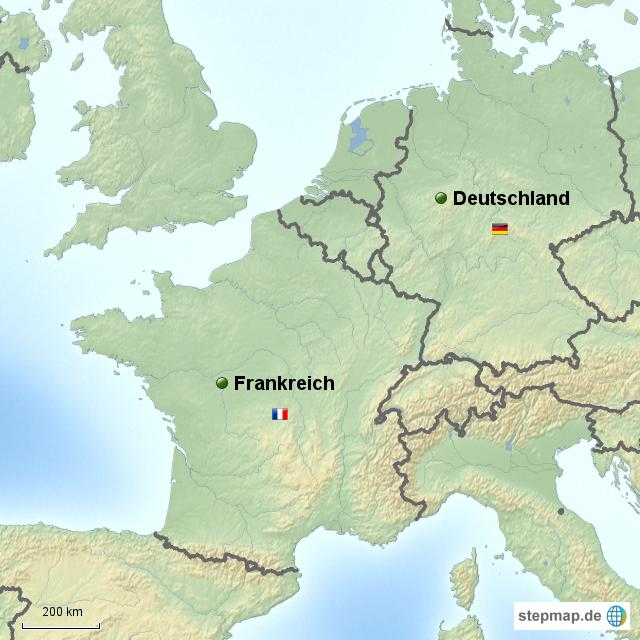 deutschlnd karte