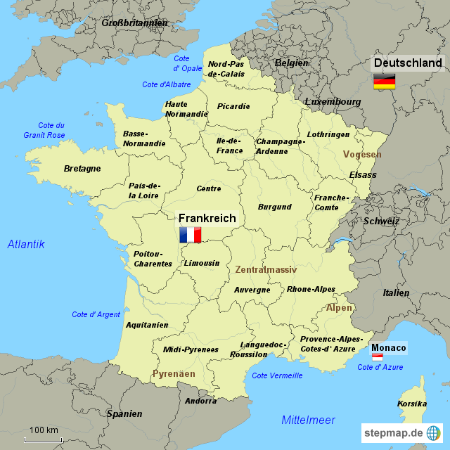 Commune De Chateaulin Plan De La Ville