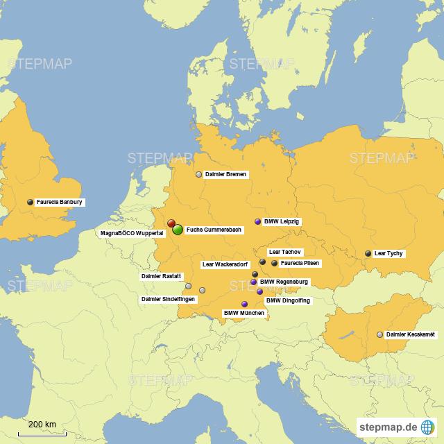 Fuchs Gummersbach Von Karsten T Hartung Landkarte Fur Deutschland