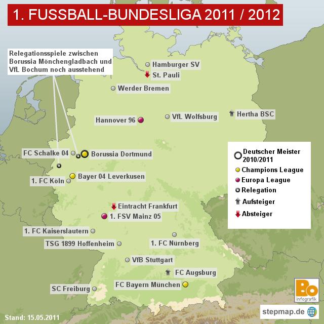 1 bundesliga in deutschland:
