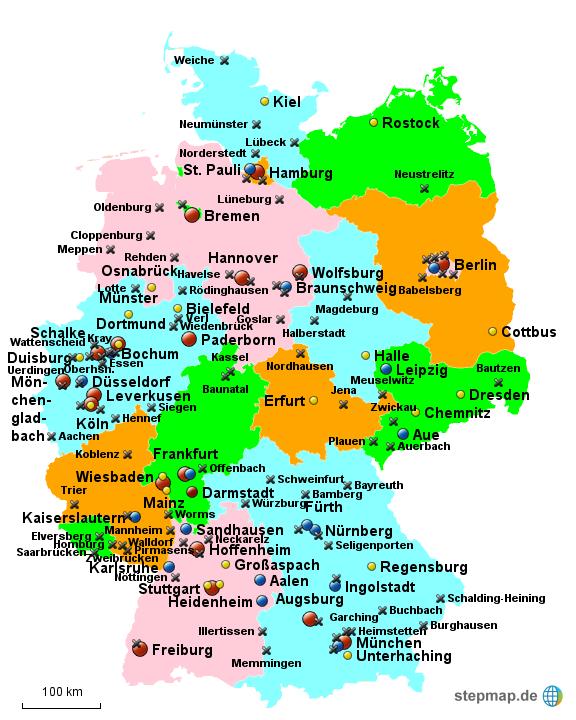 alle ligen deutschland