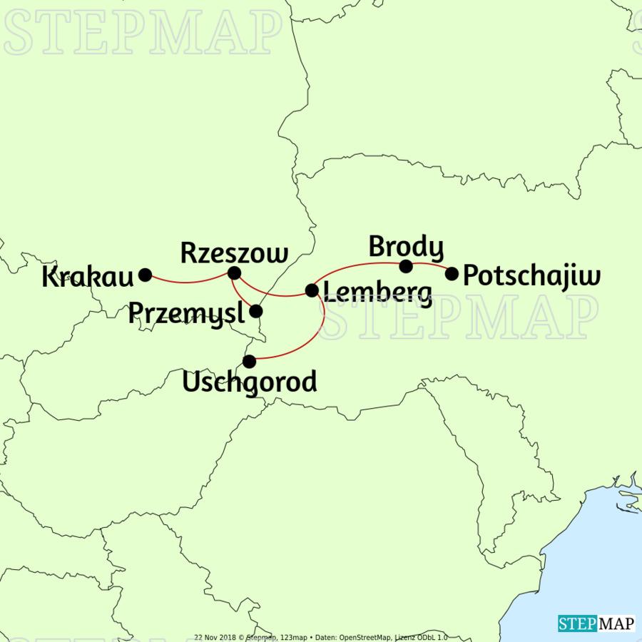 Landkarte: galizien_2019