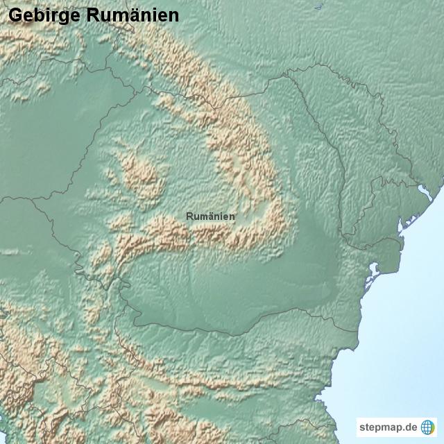 Gebirge rumänien