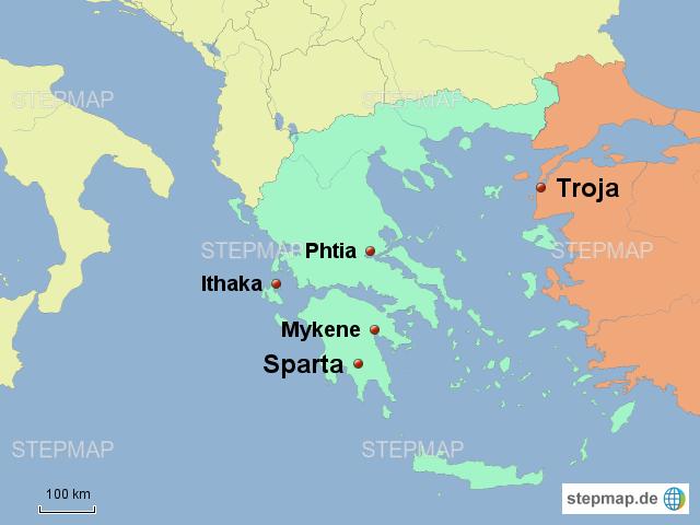 Troja Griechenland