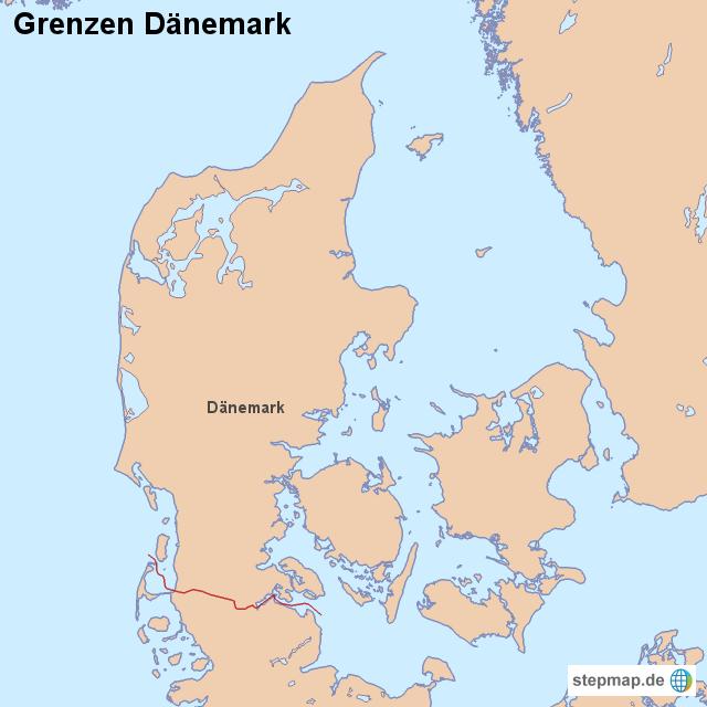 Dänemark Grenzen