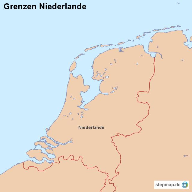 Niederlande Grenzen