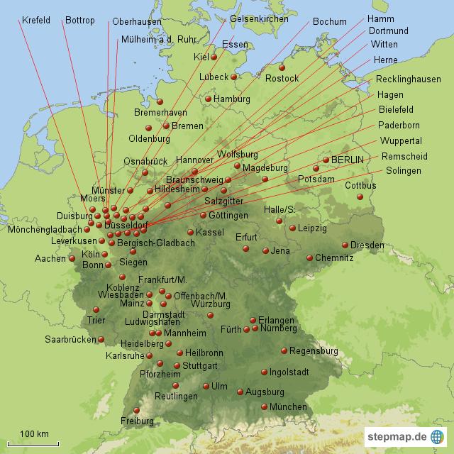 großstädte deutschlands