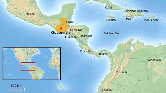 Guatemala Karte.Extreme Armut In Guatemala By Korbinian Kling On Prezi