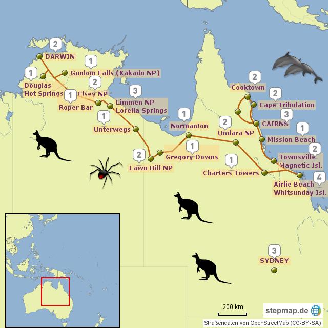 Australien Karte Landkarten Von Picture Pictures