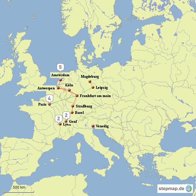 handelswege in der fr hen neuzeit von labizarre landkarte f r deutschland. Black Bedroom Furniture Sets. Home Design Ideas