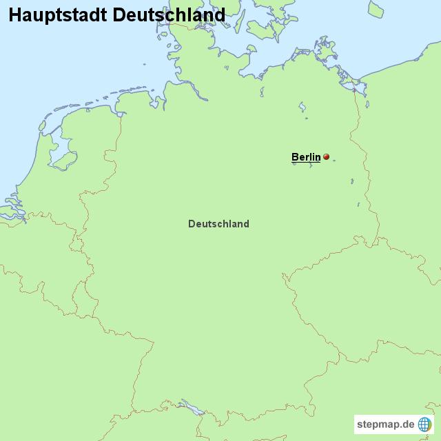 hauptstadt deutschland von l nderkarte landkarte f r. Black Bedroom Furniture Sets. Home Design Ideas