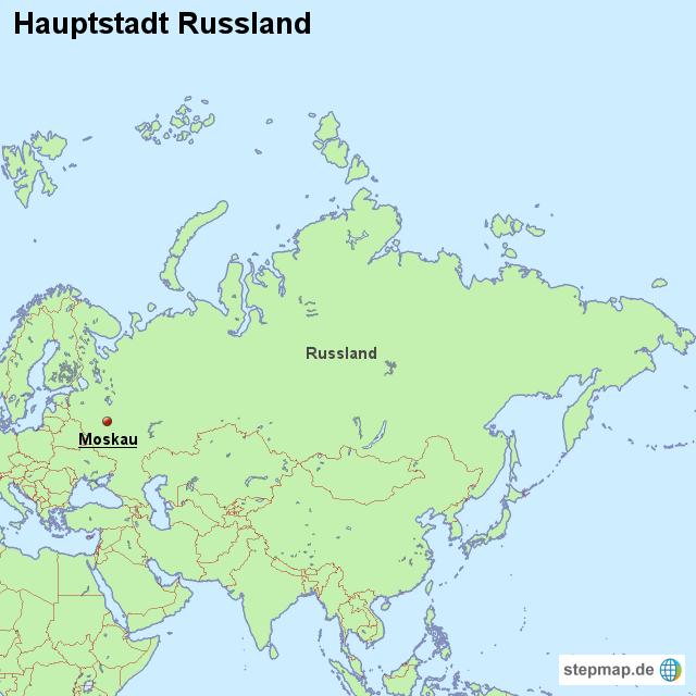 hauptstadt russland von l nderkarte landkarte f r russland. Black Bedroom Furniture Sets. Home Design Ideas