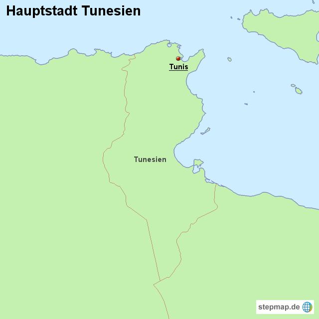 hauptstadt tunesien von l nderkarte landkarte f r tunesien. Black Bedroom Furniture Sets. Home Design Ideas