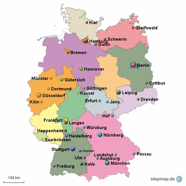 henry schein deutschland 2016 von arminhiller landkarte f r deutschland alle bundesl nder. Black Bedroom Furniture Sets. Home Design Ideas