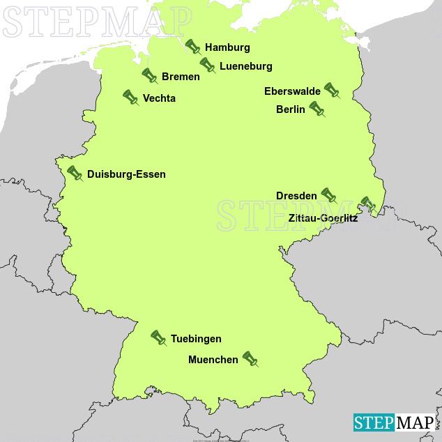 Landkarte: HOCH N