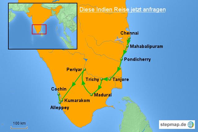 indien karte der s den ruft von asienteam landkarte f r indien. Black Bedroom Furniture Sets. Home Design Ideas