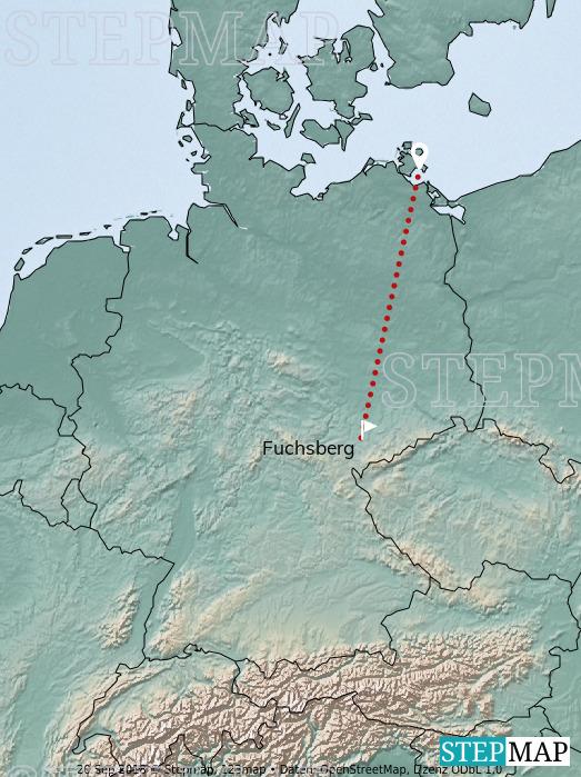 Landkarte: Jens