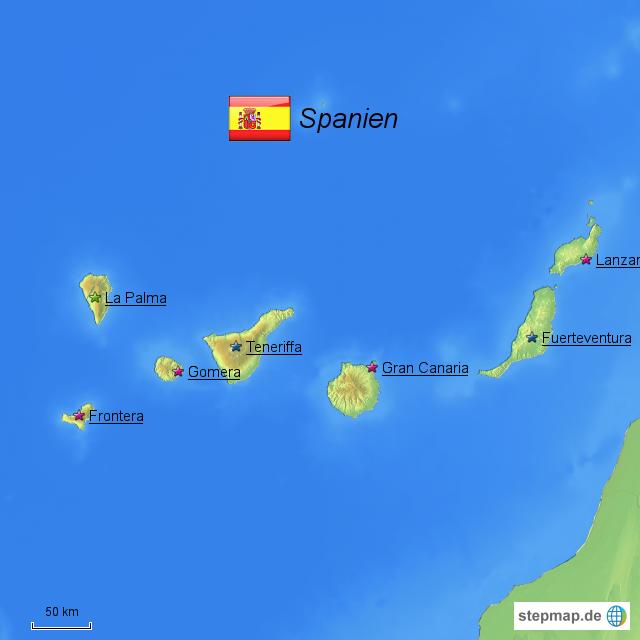 Alle Kanarische Inseln