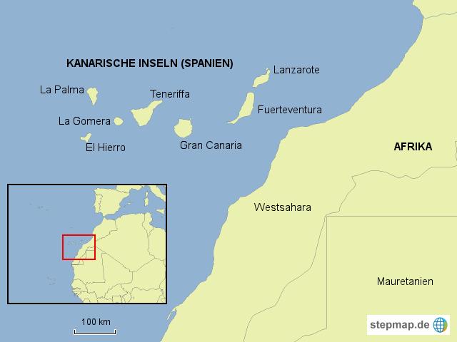 kanarische inseln karte StepMap   kanarische inseln, el hierro   Landkarte für Deutschland kanarische inseln karte