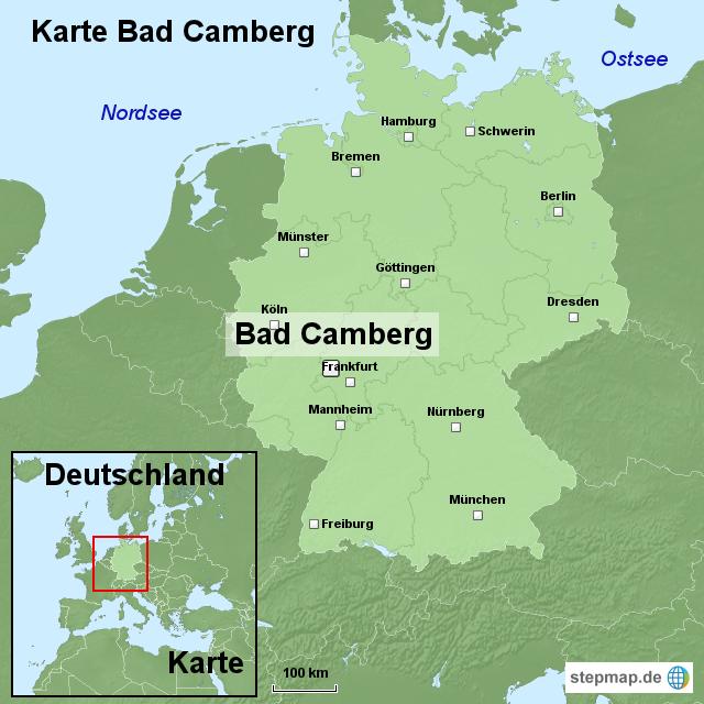 Karte Bad Camberg Von Ortslagekarte