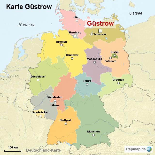 Güstrow Karte.Karte Güstrow Von Ortslagekarte Landkarte Für Deutschland