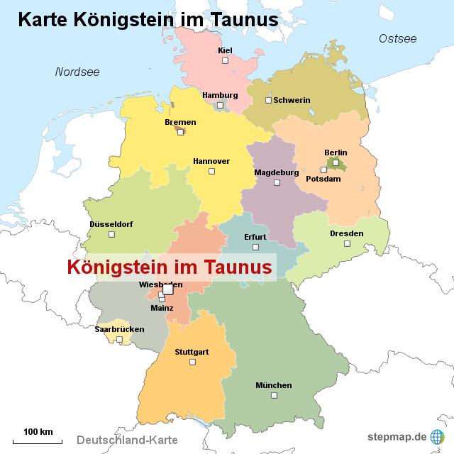 taunus karte Taunus Karte Deutschland | Kleve Landkarte