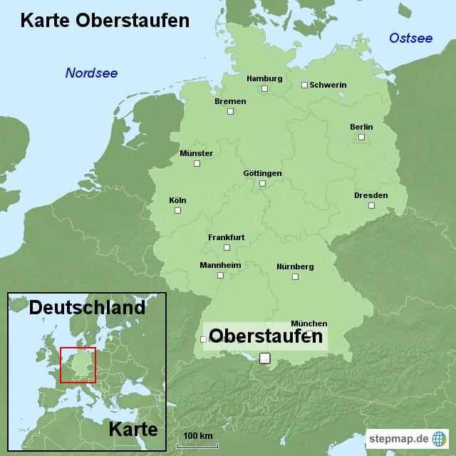 oberstaufen karte Oberstaufen Karte Allgäu | hanzeontwerpfabriek