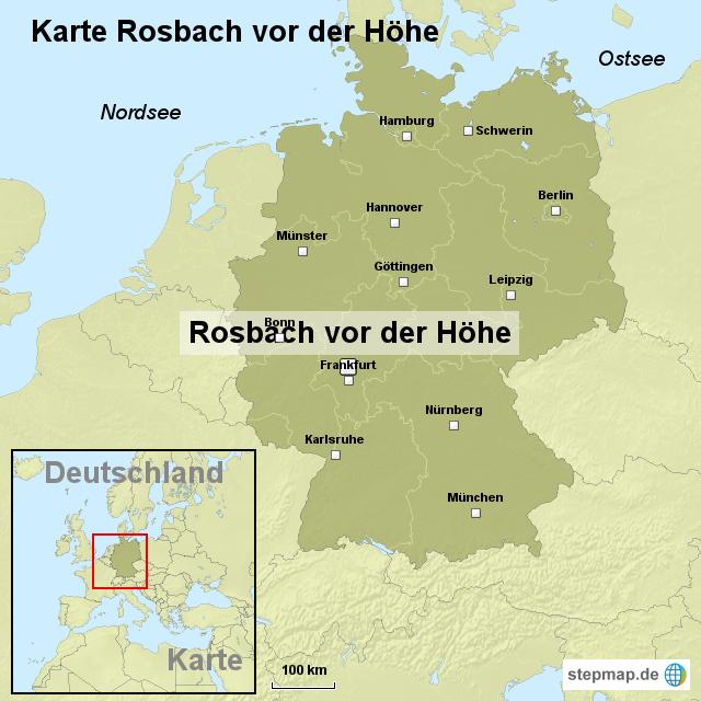 Höhe Der Grunderwerbsteuer In Niedersachsen : karte rosbach vor der h he von ortslagekarte landkarte ~ Lizthompson.info Haus und Dekorationen