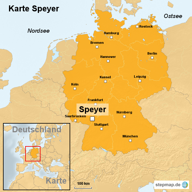 deutschlanf karte