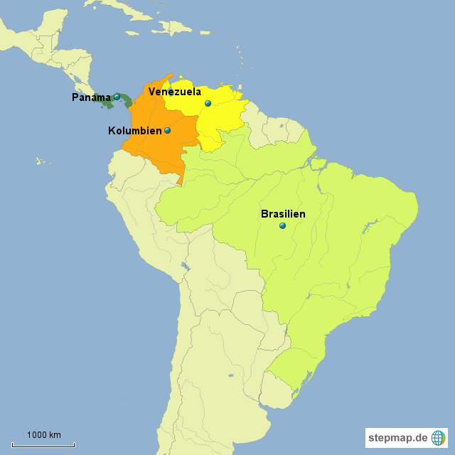 kolumbien brasilien