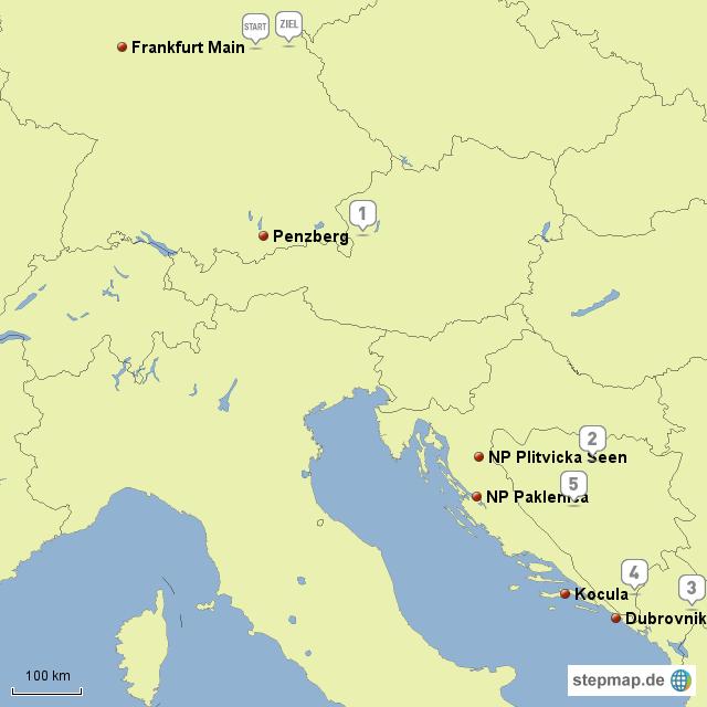 kroatien reise europakarte von abangumdiewelt landkarte f r deutschland. Black Bedroom Furniture Sets. Home Design Ideas