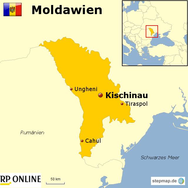 Moldawien Karte.Länder Der Welt Moldawien Von Rponline Reise Landkarte Für Moldawien