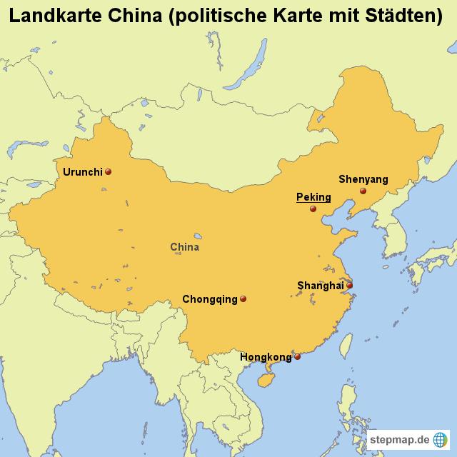 China Karte Physisch.Politische Karte China Filmgroephetaccent
