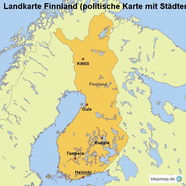 finnland grenzen