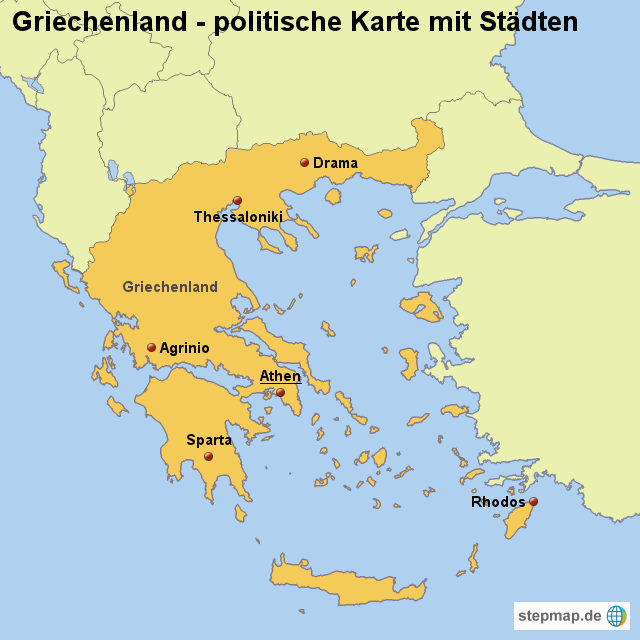political map of greece with Landkarte Griechenland Politische Karte Mit Staedten 180265 on Balkan maps together with File Map of the Mediterranean Sea in Summer 1942 showing controlled by Italy  British Empire  and other Axis and Allied forces as well Greece likewise Stock Photo Grey Political Map Of Europe Political Europe Map Vector Illustration 143174071 in addition File Growth of the ancient Greek Kingdom of Macedon  English.