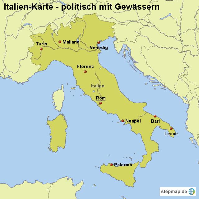 turin karte Turin Landkarte Italien | Kleve Landkarte