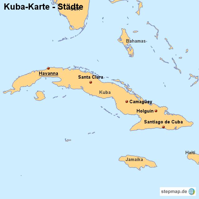 Karte Kuba.Landkarte Kuba Karte Mit Städten Von Länderkarte Landkarte Für Kuba