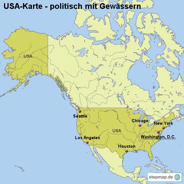 Image Result For New York Amerika Karte
