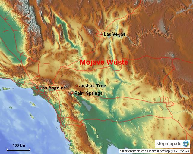 Las Vegas Landkarte