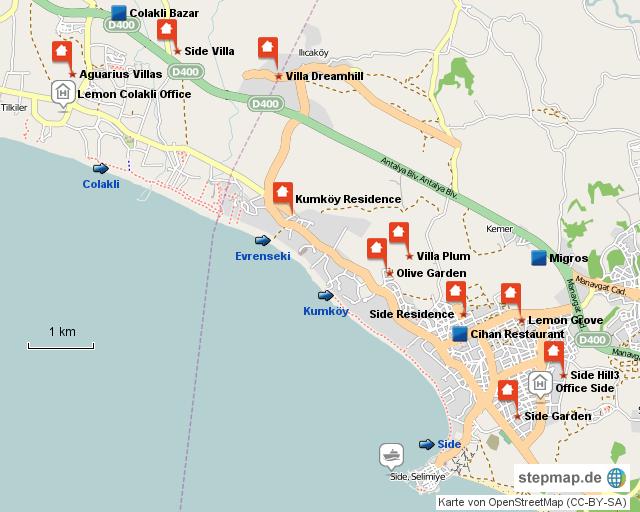 Karte Side