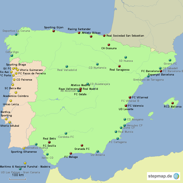 1 liga spanien