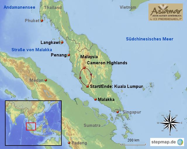 Cameron Highlands Malaysia  city photos : ... landkarten welt asien malaysia malaysia rundreisen cameron highlands
