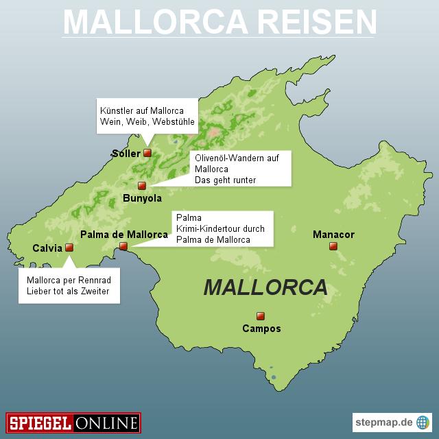 Wo Ist Der Ballermann Auf Mallorca Karte Kleve Landkarte