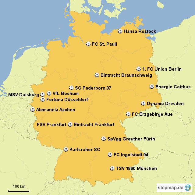 2. Bundesliga Mannschaften
