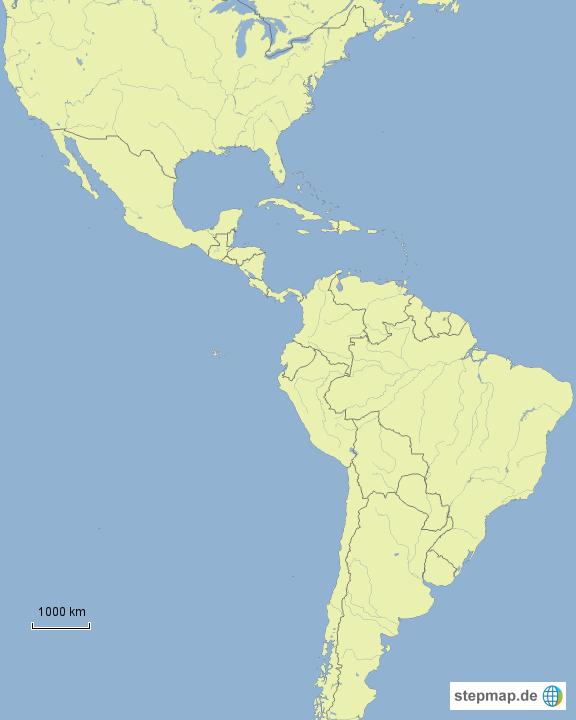 Map of North & South American Viking MCs von wikinger23 - Landkarte ...