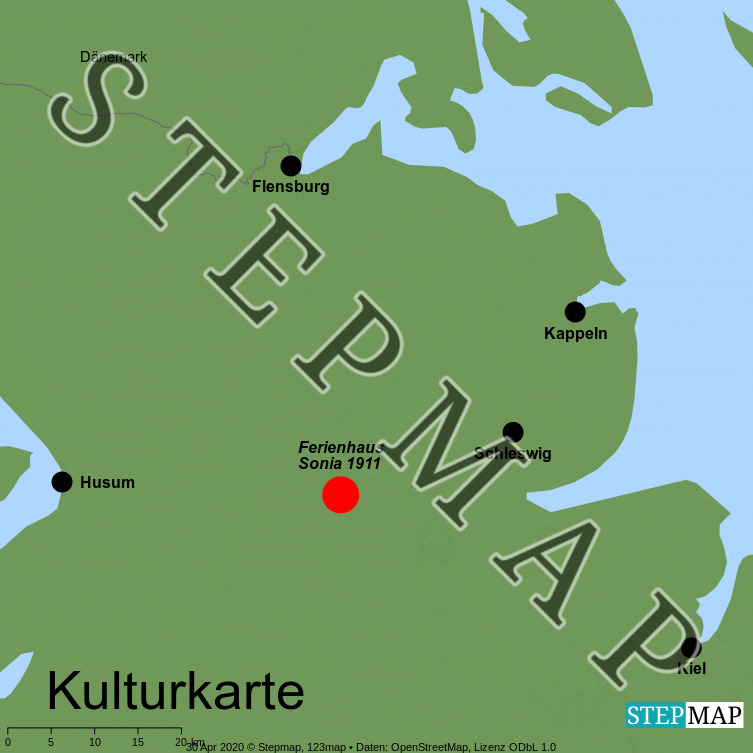 stepmap  meer  strand  landkarte für deutschland
